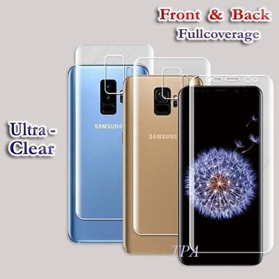 3x Full Coverage 3D Film Screen Protector For Samsung Galaxy S8 S8+ Plus Note 8