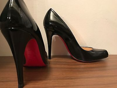 Christian Louboutin Patent Leather Red Sole Pump