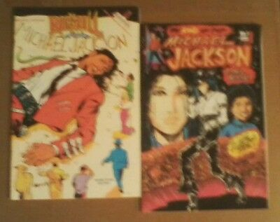 Lot of 2 Michael Jackson comic books