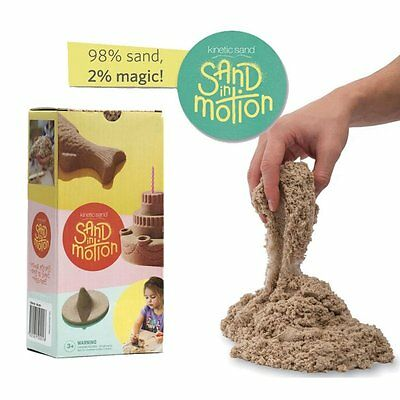 Kinetic Sand Natural 2.5kg Pack Kinetic Sand Magic In Motion GENUINE