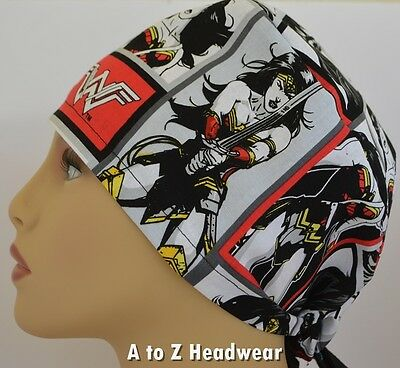 Wonder Woman Warrior Surgical Scrub Hat*Limited Availability