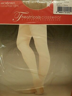 Theatricals Classwear ADULT MED   Convertiblle Tights Size LT #T5500