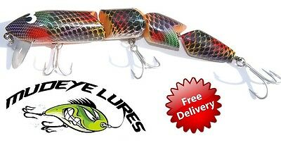 Mudeye Snake Lure 260mm Popular Colours Fishing with Timber FREE POSTAGE