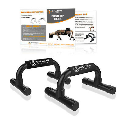 Push Up Bars Workout For Home Gym & Fitness Great for Your Muscle Ups Training
