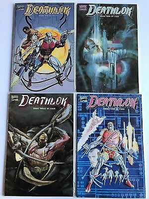 Deathlok: the brains of the outfit #1-4 VF/NM 1st Prestige Format