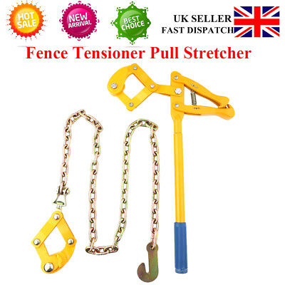 UK Quality Chain Strainer Monkey Cattle Wire Fence Tensioner Pull Stretcher Sale