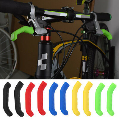 Anti-slip Bicycle Handle Brake Grips Lever Covers Protector For Mountain Bike SR