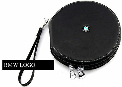 Etui BMW PU Leder CD Case Auto DVD Halter Disc Album Storage Organizer