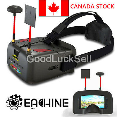 Eachine VR D2 PRO 5 Inches 800*480 40CH 5.8G Diversity FPV Goggles with DVR lens