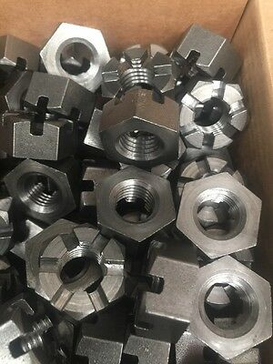 1/2 Inch BSP castle Nuts