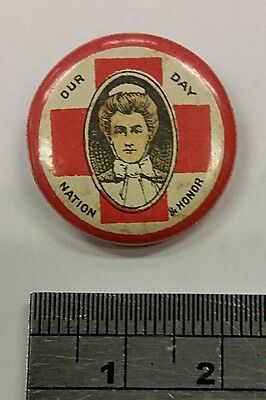 Red Cross Day / Nation and Honour - Our Day Pin / Badge