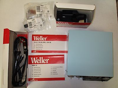 ExDemo Weller WMD 1S Rework Station & DS-80 De_soldering Tool_Made In GermanyESD