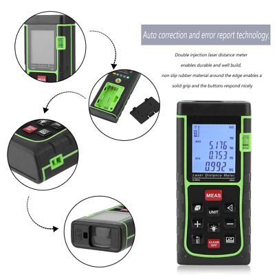 Laser Tape Digital Distance Meter Test Measure Measuring Tool Device Range 40m C