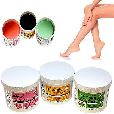 Professional Hair Removal Wax Honey Tea Tree Pink Rose Creme Depilation Waxing