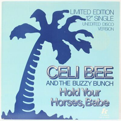 Hold Your Horses, Babe  Celi Bee AndThe Buzzy Bunch Vinyl Record