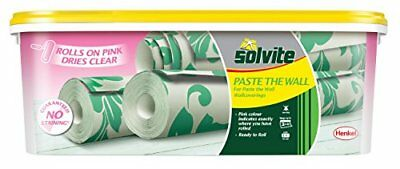 Solvite 2029437 3-roll pasta la pared ready-MIX - rosa