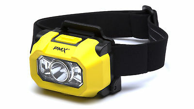 Pyramex HL100 Intrinsically Safe High Power LED Headlamp for Hard Hats, (1 Each)