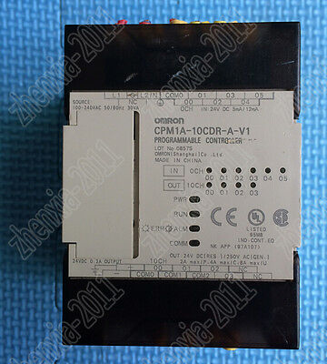 1Pc used Omron PLC CPM1A-10CDR-A-V1    @6