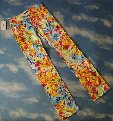 TROUSERS vintage VERSACE Jeans Couture made in Italy TG 28-42 circa S NEW!