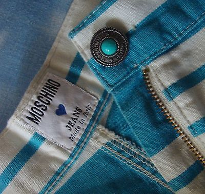 SKIRT gonna vintage 80's  MOSCHINO jeans made Italy TG.46 circa M RARE