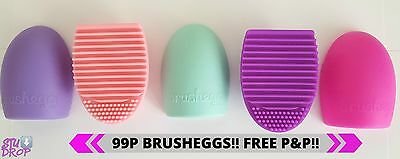 Makeup Brush Cleaner Cosmetic Cleaning Silicone Foundation Egg Heart Glove Tool