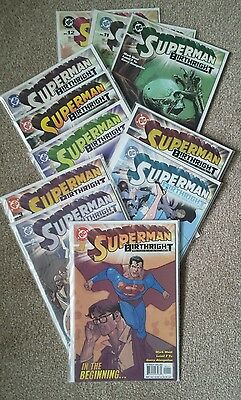 Superman: Birthright 11 Issues (2003 - 2004) FIRST PRINT