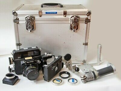 Rapid Omega 100 Medium Format Camera - 90mm lens, extra back, and accessories