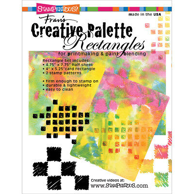 Stampendous Creative Palette   Rectangles  CP475