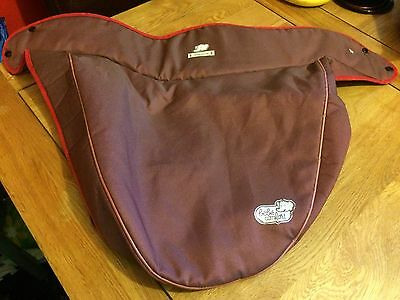 Bebe Confort Windoo Carrycot BOOT APRON and OUTER LINER RED birdseye