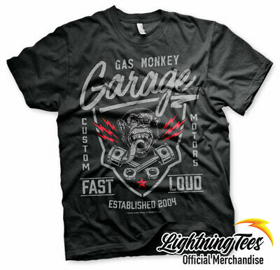 Official Gas Monkey Garage GMG Fast N Loud T-Shirt
