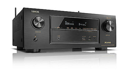 Denon AVR-X3400H 7.2 Channel 4K Ultra HD AV Receiver with Bluetooth and Wifi