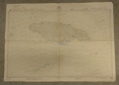 Vintage Nautical Chart: Jamaica, 1980 US Defense Mapping Agency