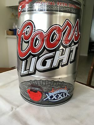 Coors Light Super Bowl XXXIX Mini Keg