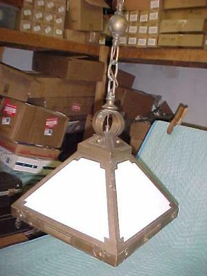 Antique Mission/Arts & Crafts Ceiling Fixture, Great Original Condition