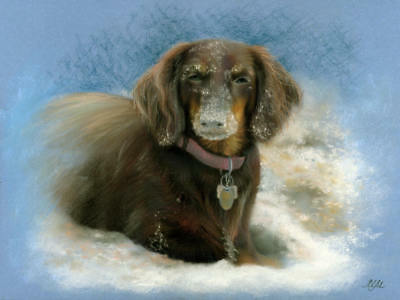 Pet commission,husband to wife gift, dog painting, retriever, dog lover gifts
