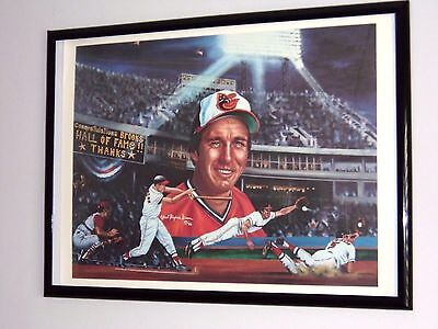 Brooks Robinson Lithograph,  Robert Stephen Simon Artist