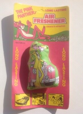 Vintage 1979 Scentex Inc. The Pink Panther Long Lasting Air Freshener NEW