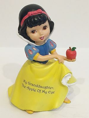 Disney Princess Hamilton Collection Snow White Apple My Granddaughter Figurine