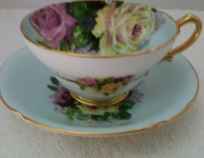 Stanley Roses Cup And Saucer