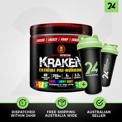 Kraken by Sparta Nutrition | Extreme Pre Workout Muscle Pumps | Free Gift!