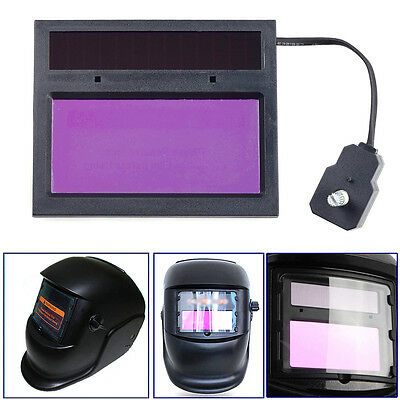 Solar DIN 9-13 Auto Darkening Welding Filter Lens for Soldering Helmet Cap Mask