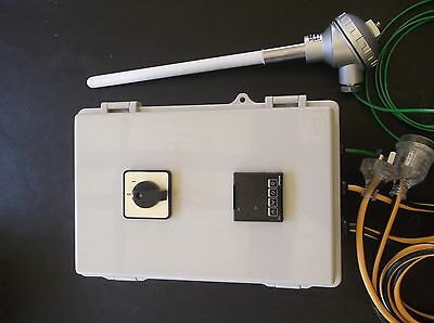 Plug And Play Ramp And Soak 9 Step  Pid Controller With K Type Thermocouple