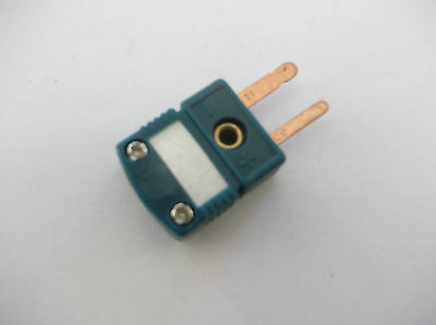 Type R/s Thermocouple Mini Connector  Plug  , Flat Pin