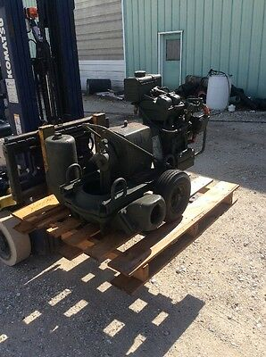 "4"" Diaphragm Pump Mud Water New Unused Barnes"