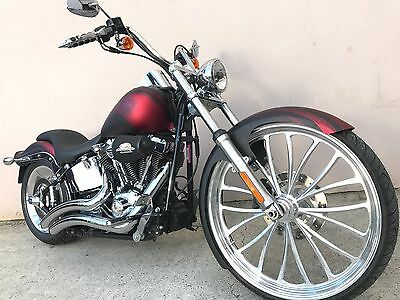 2008 Harley Davidson Softail Custom with 26in Front Wheel + Only 9500kms FXSTC