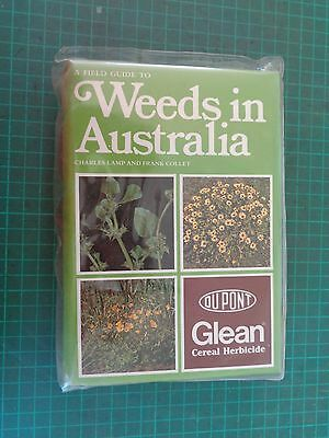 Vintage agricultural reference book  WEEDS IN AUSTRALIA,  ID guide