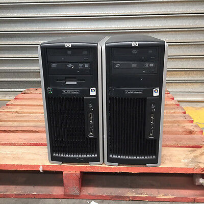 2x HP xw9400 Dual (2) AMD Opteron 2220 2.8Ghz Dual-Core Tower Workstation
