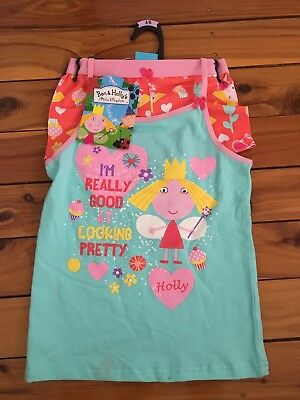 Ben & Holly's Little Kingdom Singlet And Brief Set. Size 2/3. Brand New!