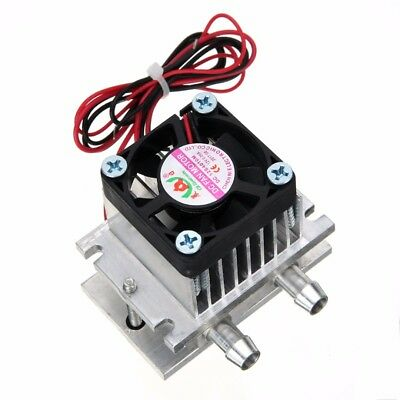 TEC1-12706 Thermoelectric Peltier Module Water Cooler Cooling System DIY Kit 60W