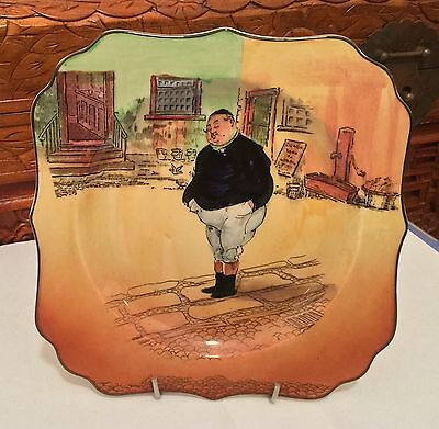 Royal Doulton ~ Dickens Ware ~ The Fat Boy - Display Plate